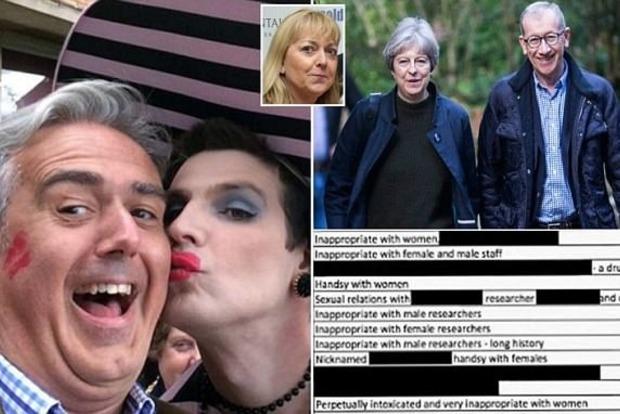 Список сексуальных извращенцев из числа высокопоставленных чиновников опубликован в Британии