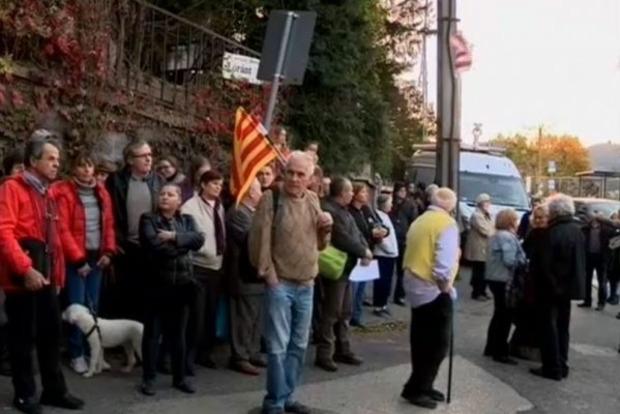 Під посольством України вУгорщині відбувся мітинг за відокремлення Закарпаття