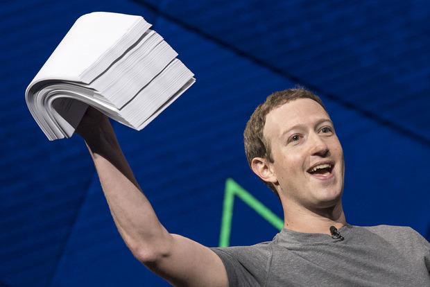Чистая прибыль Facebook увеличилась на 12%
