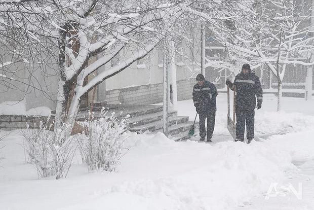Фото к материалу: В Полтавской области температура опустилась до -28. Будет еще хуже по всей Украине