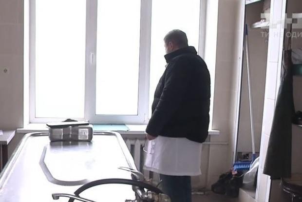ВКиеве рабочие морга объявили забастовку