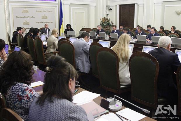Законопроекта о реинтеграции Донбасса нет в повестке дня Рады. Оппоблок - против