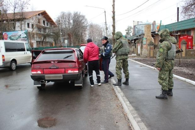 Полиция провела «отработку» Славянска