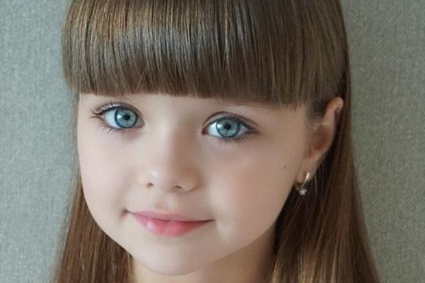 Шестилетнюю россиянку назвали самой красивой девочкой в мире