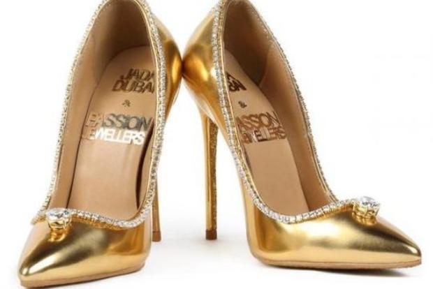 Туфли за 17 млн долларов показали в Дубае