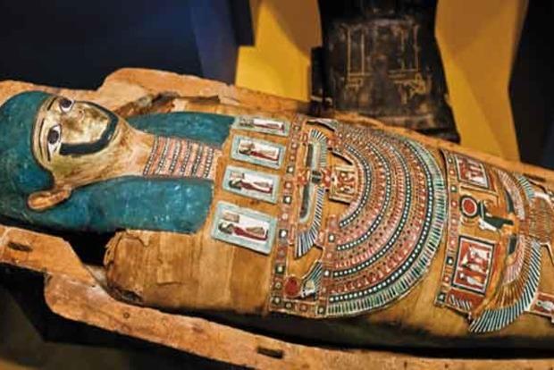 В Киево-Печерском заповеднике случайно обнаружили мумию из Древнего Египта