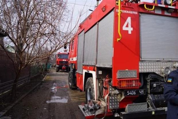 В Запорожье прогремел взрыв. Многоэтажку охватил пожар