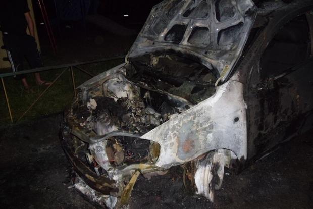За сутки в Киеве сгорело пять автомобилей