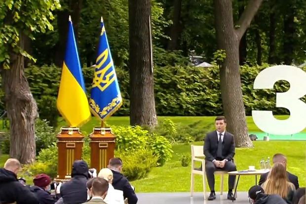 Президент начал пресс-диалог (новость дополняется)