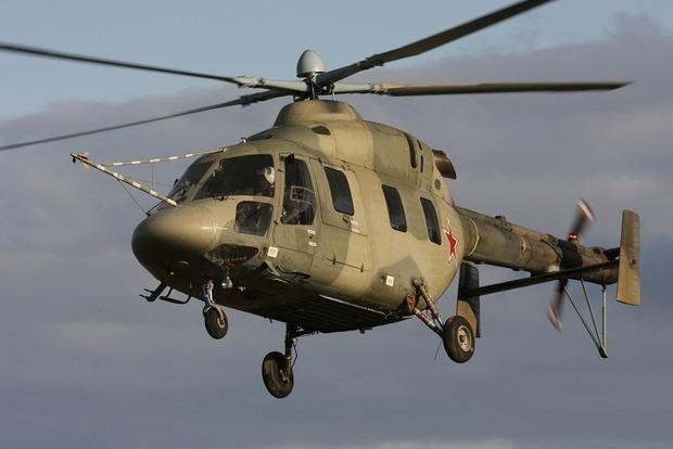 Пограничники зафиксировали полет российского вертолета