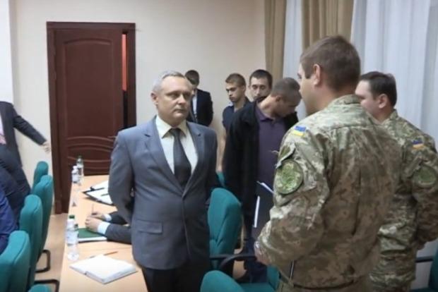 Во время коллегии СБУ за взятку задержан полковник военной контрразведки