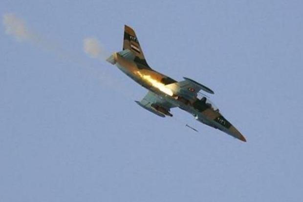 Опубликовано видео крушения сирийского МиГ-23