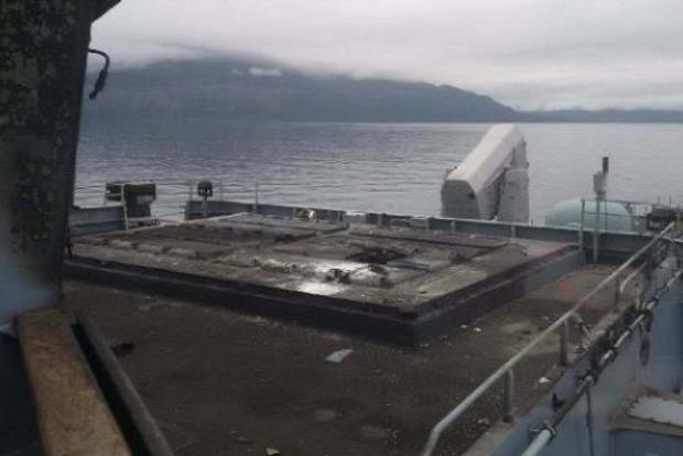 О, Scheiße!: Взрыв на военном корабле ВМС Германии попал на видео