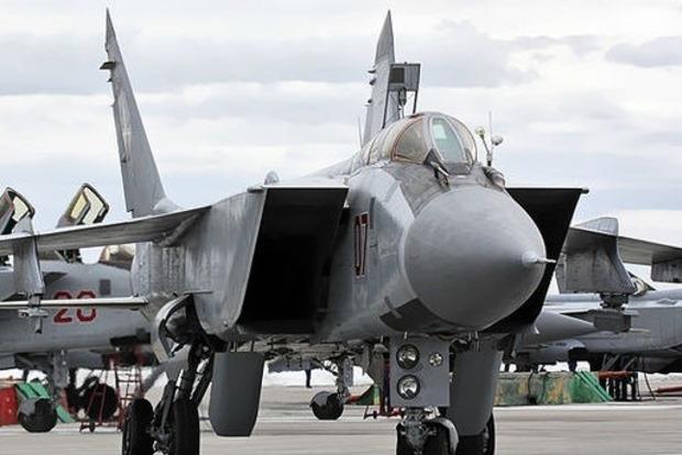 В России рухнул военный истребитель МиГ-31
