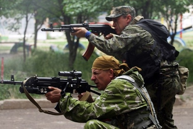 Вчера вечером боевики обстреляли позиции сил АТО