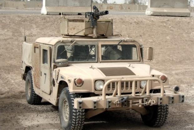 Америка поставит в Украину очередную партию Hummer