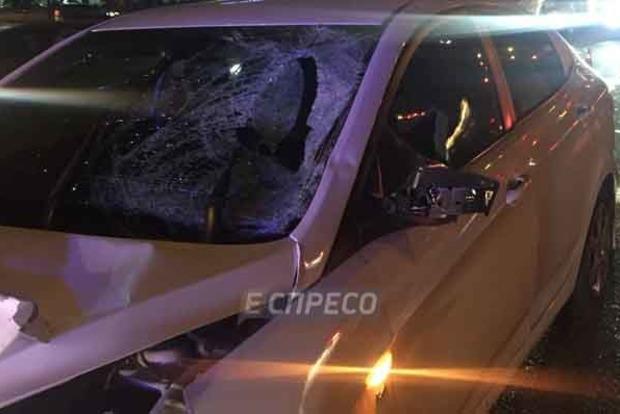 В Киеве авто насмерть сбило вора, который убегал после кражи