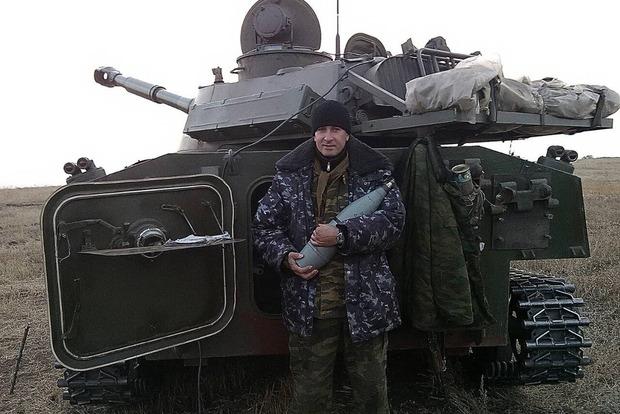 В ДНР взорвалась САУ, четверо террористов погибли