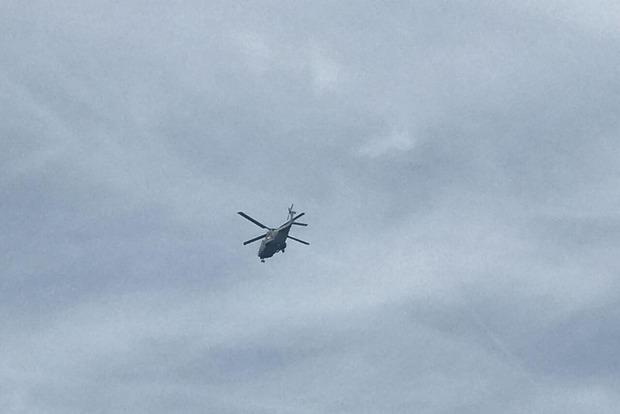 В Бельгии во время авиашоу из вертолета выпал пилот