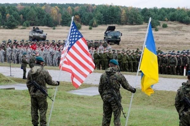 На Львовщине прошла церемония открытия украинско-американских учений Rapid Trident-2017
