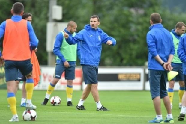 Шевченко огласил состав на матчи против сборных Турции и Исландии