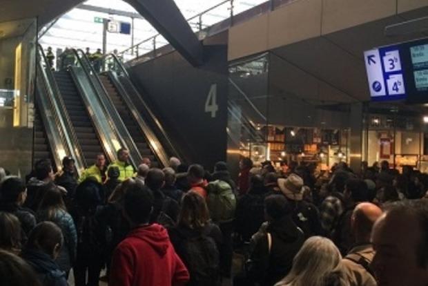 В Роттердаме эвакуировали пассажиров поезда из-за подозрительного багажа