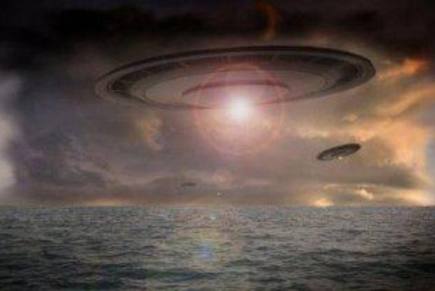 Взрыв НЛО над Британией попал на видео