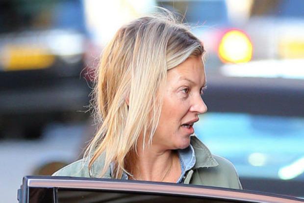 Вся краса розпливлася: Кейт Мосс перестала стежити за собою