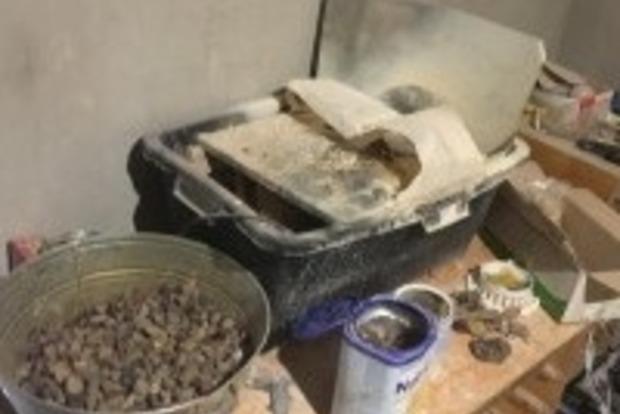 На Волыни ликвидирован подпольный цех по обработке янтаря