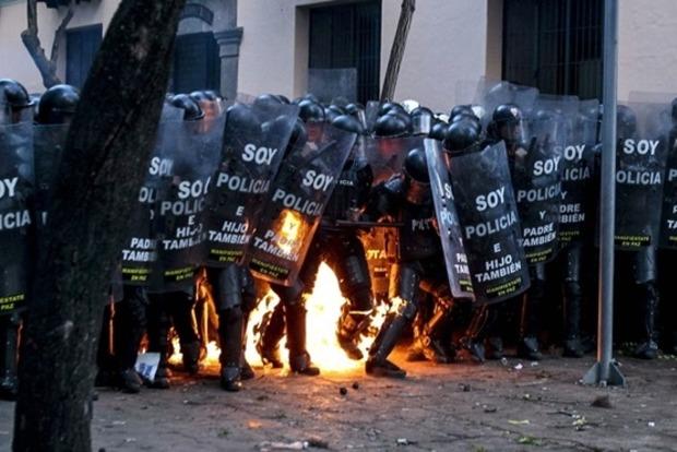 Опубликовано видео массовых протестов против Ленина – нового президента Эквадора
