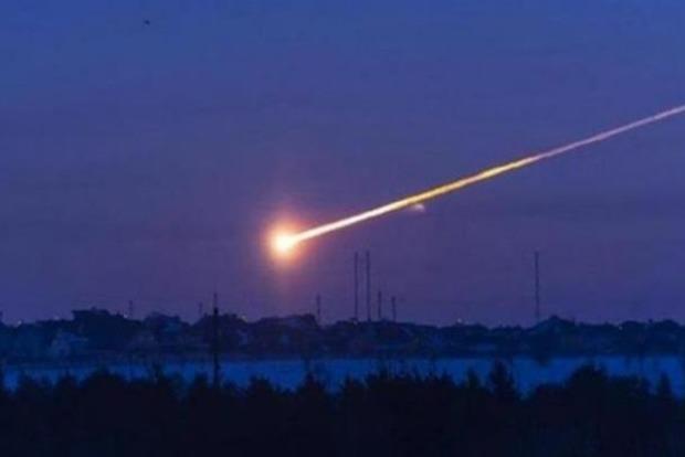 В России в небе над Хакасией пролетел метеорит