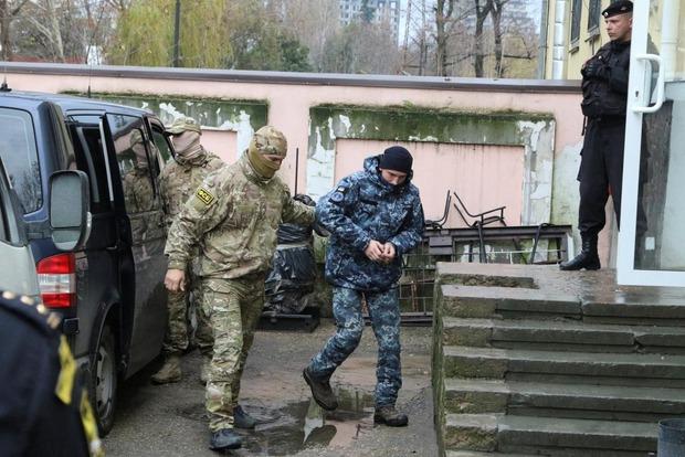 Утащили в логово. Пленных украинских моряков перевезли в Москву