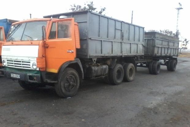 В Полтавской области загорелся грузовик, его водитель погиб