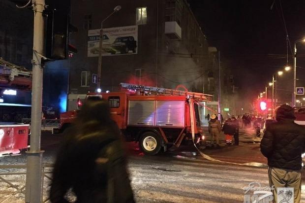 В харьковском кафе прогремел взрыв, есть пострадавшие