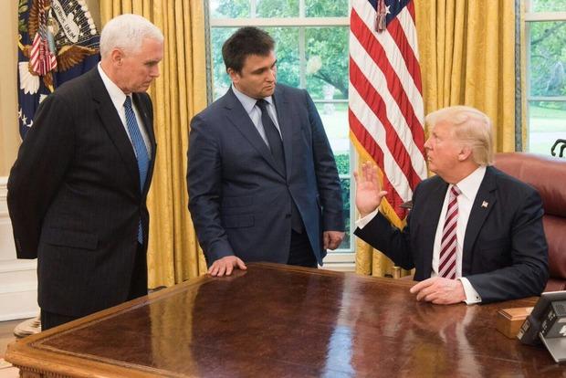 В Белом доме прокомментировали встречу Трампа и Климкина
