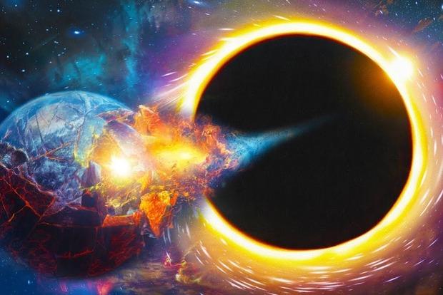 Ученые описали, как землю погубит Черная Дыра