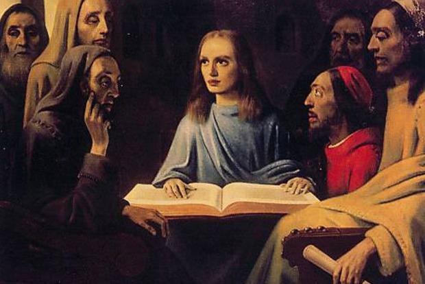 Длинный нос и без бороды. Ученые нашли самое древнее изображение Христа