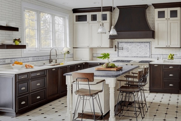 Планировка кухонных гарнитуров для максимального комфорта