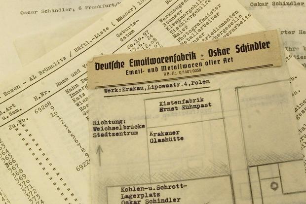Настоящий список Шиндлера выставлен на аукцион за $2,4 млн