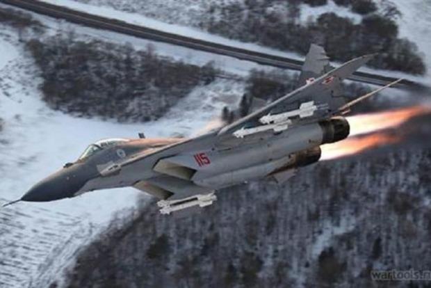 В Египте потерпел аварию истребитель МиГ-29