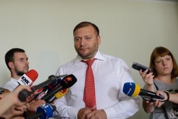 Суд избирает меру пресечения нардепу Добкину