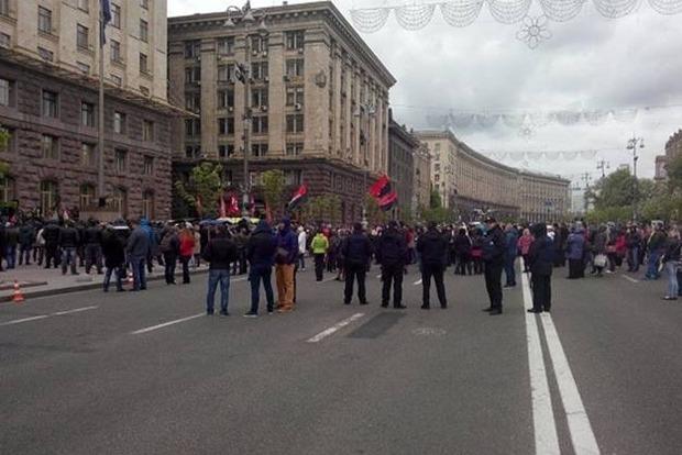 После штурма КГГА полиция задержала более 50 человек