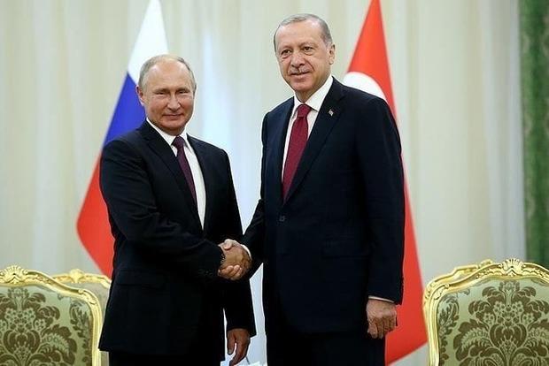 Эрдоган собирается обсудить с Путиным проблемные вопросы: Сирию, Афганистан и Ливию