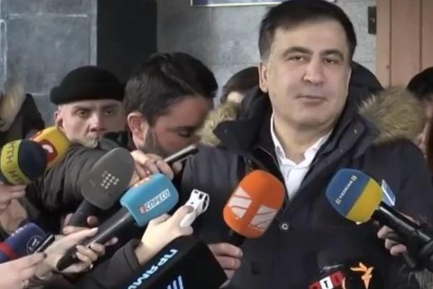 Саакашвілі після допиту вСБУ заявив, щопоїде втур