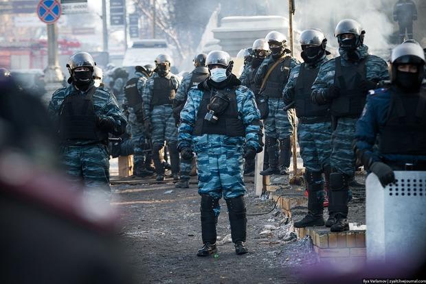 Задержан беркутовец, избивавший автомайдановцев во время Майдана