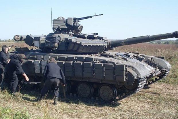 На Луганщине танкисты ВСУ тренируются по стандартам НАТО