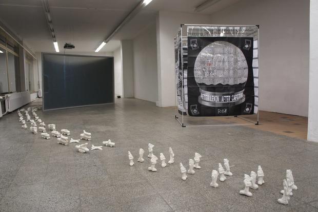 В Берлине открылась выставка донецкого скульптора о половых органах