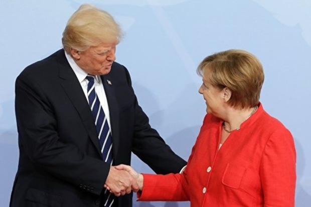 Трамп поздравил Меркель с победой на выборах