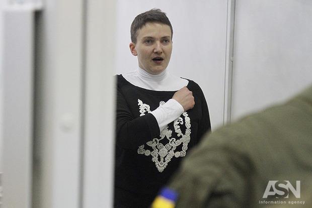 Савченко отказали в отводе прокурора и коллегии суда