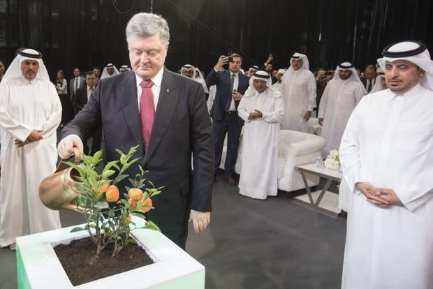 Порошенко знайшов уКатарі заміну російському газу